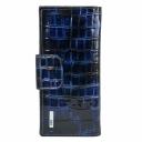 Гаманець шкіряний синій AKA 485/405 Туреччина