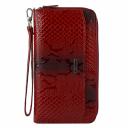 Клатч портмоне женский красный AKA 430/309 Турция