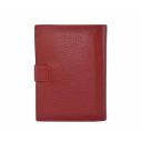 Кошелек и обложка на паспорт черный AKA 454/301 Турция