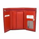 Кошелек кожаный красный KARYA 1063/309 Турция