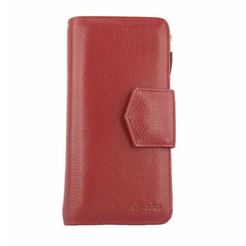 Кошелек кожаный женский красный AKA 441/301 Турция