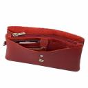 Кошелек кожаный женский красный AKA 491/301 Турция