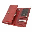 Кошелек кожаный женский красный KARYA 1048/309 Турция