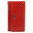 Кошелек кожаный женский красный KARYA 1088/300 Турция