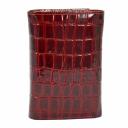 Кошелек лаковый кожаный бордовый KARYA 1063/315 Турция