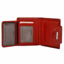Кошелек маленький кожаный красный KARYA 1052/307 Турция