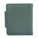 Кошелек женский кожаный зеленый AKA 458/501 Турция