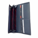 Кошелек женский кожаный синий AKA 485/401 Турция