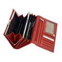 Кошелек женский кожаный красный KARYA 1016/301 Турция