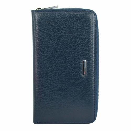 Кошелек женский кожаный синий KARYA 1072/401 Турция