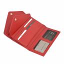 Кошелек женский кожаный красный KARYA 1115/301 Турция