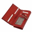 Кошелек женский кожаный красный KARYA 1133/309 Турция