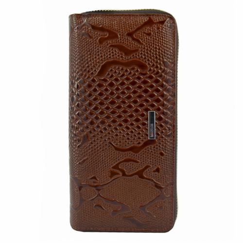 Кошелек женский кожаный коричневый KARYA 1134/139 Турция