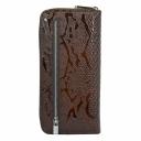 Кошелек женский кожаный коричневый KARYA 1140/209 Турция