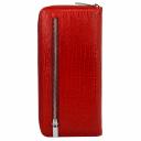 Кошелек женский кожаный красный KARYA 1140/307 Турция