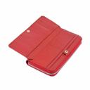 Кошелек женский кожаный красный ST202/301 Китай