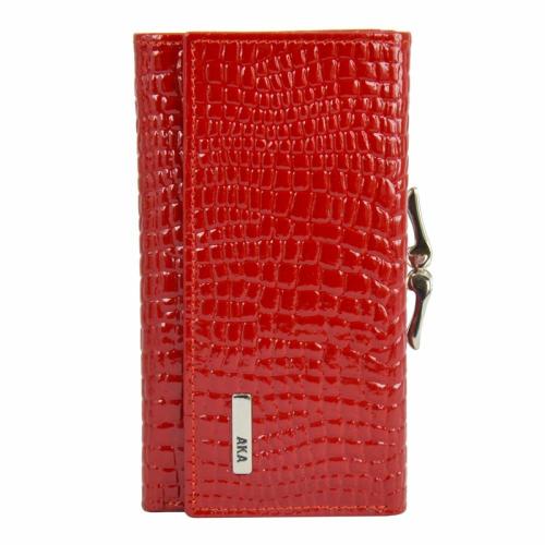 Кошелек женский маленький красный AKA 423/305 Турция