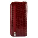 Кошелек женский кожаный бордовый KARYA 1140/315 Турция