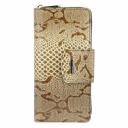 Кошелек женский кожаный коричневый питон KARYA 1119/229 Турция