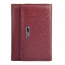 Кожаный кошелек бордовый KARYA 1047/311 Турция