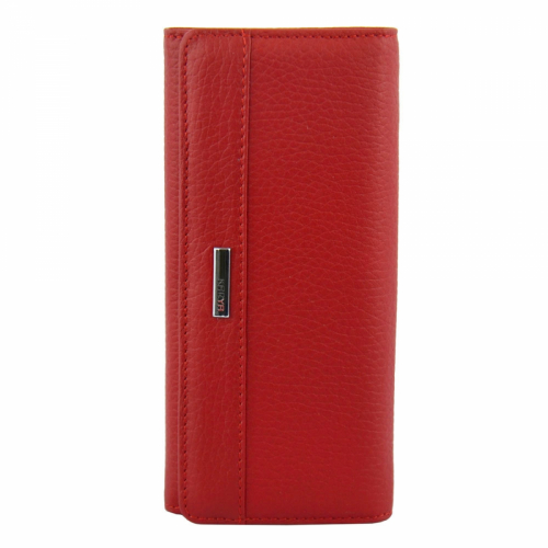 Кожаный кошелек красный KARYA 1048/301 Турция