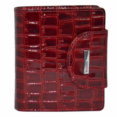 Кожаный кошелек лаковый KARYA 1052/315 Турция