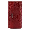 Кожаный кошелек красный KARYA 1060/309 Турция