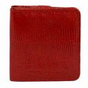 Кожаный кошелек красный KARYA 1106/307 Турция