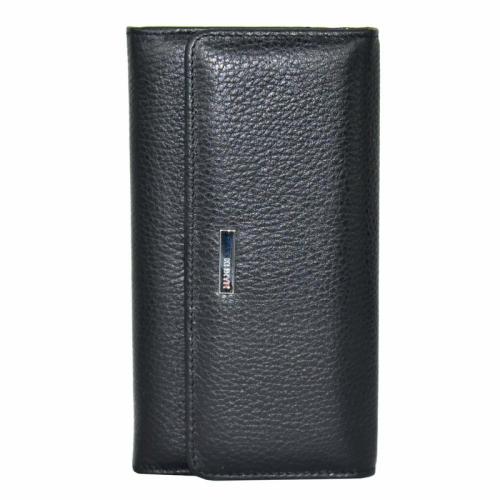 Кожаный кошелек женский черный KARYA 1061/101 Турция