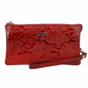 Кожаный кошелек женский красный KARYA 1075/309 Турция