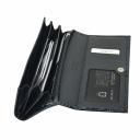 Кожаный кошелек женский черный KARYA 1127/105 Турция
