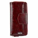 Кожаный кошелёк бордовый AKA 428/315-2 Турция