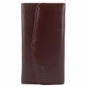 Кожаный женский кошелек бордовый AKA 472/311 Турция