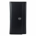 Кожаный женский кошелек черный KARYA 1146/101 Турция