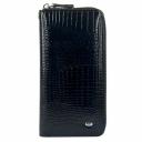 Кожаный женский кошелек черный S4001/105 Китай