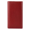 Красный кожаный кошелек женский AKA 490/301 Турция