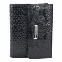 Маленький кошелек кожаный лаковый KARYA 1065/109 Турция
