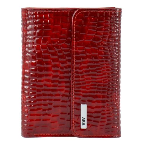 Маленький кошелек женский красный AKA 445/305-2 Турция