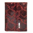 Маленький кожаный женский кошелек комбинированный AKA 445/159 Турция