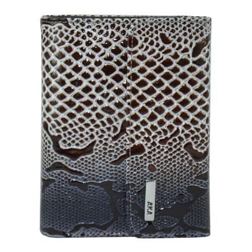 Маленький женский кошелек с тиснением AKA 445/209-019 Турция