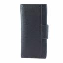Модный кошелек кожаный черный AKA 485/101 Турция