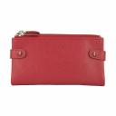 Модный женский кошелек красный AKA 400/301 Турция