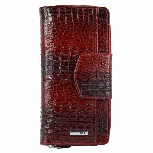 Модный женский кошелек крокодил AKA 428/305-105 Турция