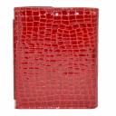 Портмоне женское кожаное красное AKA 439/315 Турция
