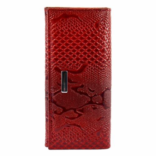 Шкіряний гаманець червоний KARYA 1127/309 Туреччина