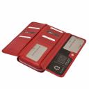 Стильный кошелек женский красный KARYA 1140/301 Турция
