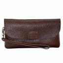 Женский кошелек клатч коричневый AKA 491/201-1 Турция