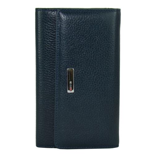 Женский кошелек кожаный синий KARYA 1088/401 Турция
