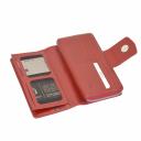 Женский кошелек кожаный красный KARYA 1119/301 Турция