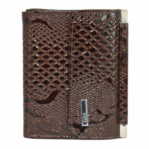 Женский кошелек маленький коричневый AKA 439/209 Турция